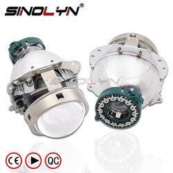 EVOX-R V2.0 D2S Bi Xenon Projector Lens Koplamp Vervangen Voor Bmw E60 E39 X5 E53/Audi A6 C5 A8 s8/Mercedes Benz W211 209/Octavia