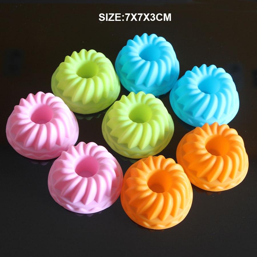 Silicone Pumpkin Design Cake Muffin Cups Kitchen Creative Accessories Diy Cupcake Bake Tool Soap Mold Ice