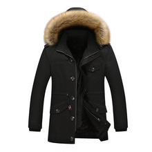 free shipping 2016 Winter jacket men new plus thick velvet jacket men's coat Plus Winter thick Jacket Coats