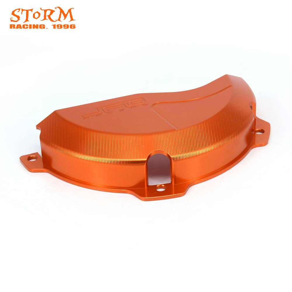 CNC Engine Clutch Guard Case Cover Protector For KTM EXC250 EXC300 EXC 250 300 2009 2016