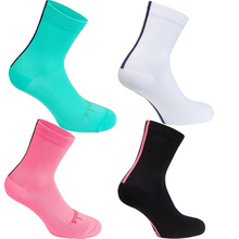 цена на High Quality Professional Brand Cycling Sport Socks Protect Feet Mesh Breathable Wicking Socks Bicycles Socks Riding Socks