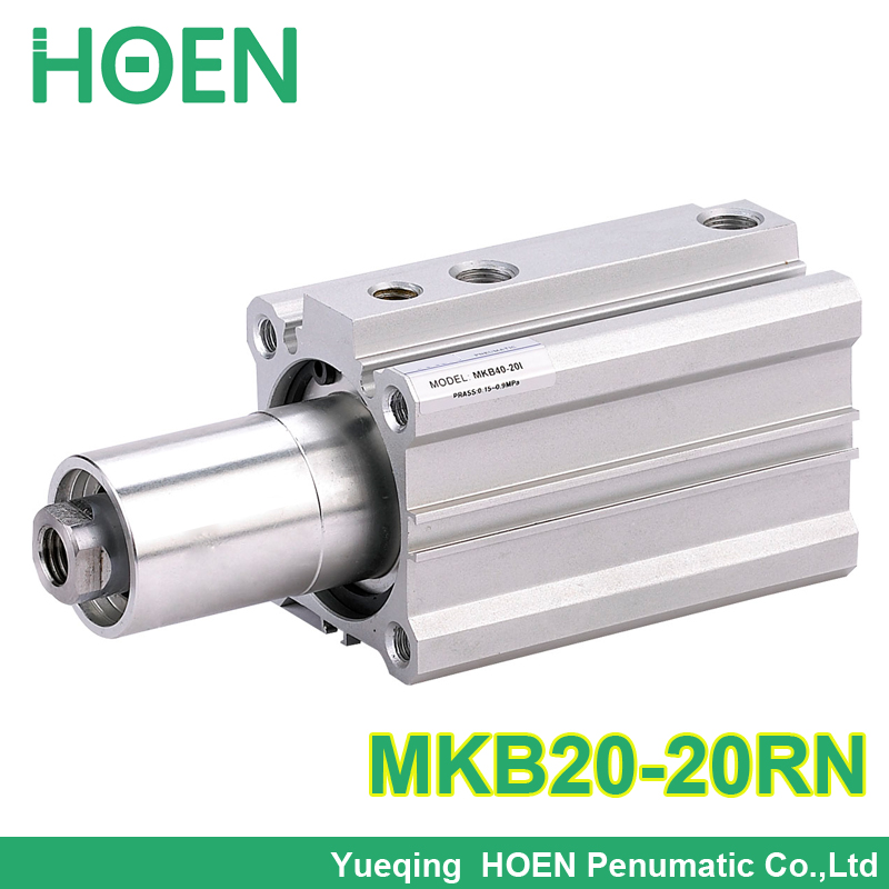 MKB20-20RN SMC Type Rotary Clamp air pneumatic Cylinder MKB Series MKB20*20RN high quality double acting pneumatic gripper mhy2 25d smc type 180 degree angular style air cylinder aluminium clamps