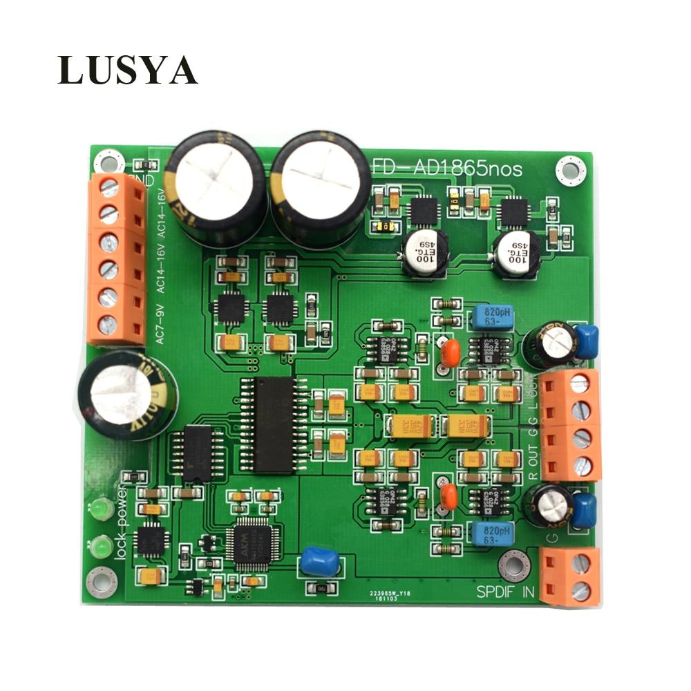 Lusya AD1865 dac R2R ถอดรหัส nos โหมด ak4118 สนับสนุน 24bit 192K F7 006-ใน เครื่องขยายเสียง จาก อุปกรณ์อิเล็กทรอนิกส์ บน AliExpress - 11.11_สิบเอ็ด สิบเอ็ดวันคนโสด 1