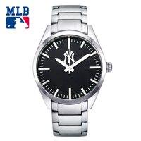 MLB NY kinh doanh thép không gỉ men xem thời trang casual đồng hồ thể thao ngoài trời thạch anh men'watch đồng hồ chống thấm nước đồng hồ SD003
