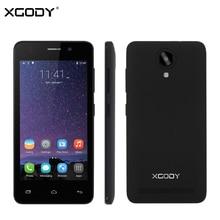 XGODY G12 4.5 Inch Smartphone 3G Unlocked Dual Sim Card Android 5.1 MTK MT6580 Quad Core 1+8G 5.0MP+5.0MP Mobile Phone WiFi GPS