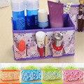 New 2016 Creative foldable multi - functional cosmetics storage box