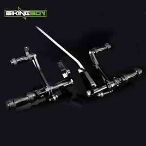 Image 1 - BIKINGBOY CNC ビレットアルミフォワードコントロール FXDL 用 00 16 ストリートボブ FXDB ダイナスーパーグライド 00 15 14 13 12