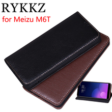 RYKKZ Luxury Leather Magnetic Flip Cover For Meizu M6T 5.7'' Mobile Stand Case For Meizu M6 M6T Leather Phone Case Cover цены