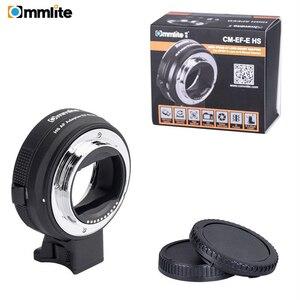 Image 5 - Commlite anillo adaptador de lente AF electrónico para objetivo Canon EF/EF S a cámaras e mount para Sony A7 A9 A7II A7RII A7RIII A6500 etc.