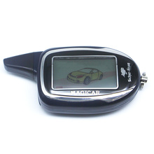 Sistema de alarma del coche de dos vías SCHER-KHAN MAGICAR 7 mando a distancia LCD para SCHER-KHAN M7 $ number vías LCD de arranque remoto del motor