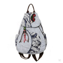 New Fashion Women Appliques ackpack!Hot All-match Lady Shopping Backpacks Top Versatile Appliques Traveller Zipper Backracks