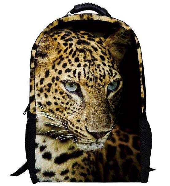 Cheetah Backpacks For School