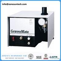 Zonesun 220 Напряжение Graver Помощник, пневматический Драгоценности гравировальный станок один Graver инструмент Изгатовление оборудование