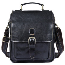 Men's Shoulder Bag Cow Leather 2019 Man Small Casual Vintage Fashion Brand Crossbody Hand Bags Genuine Leather Male Bag