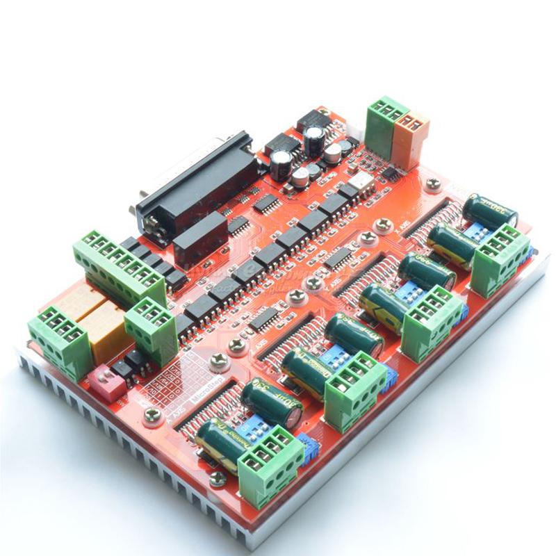 actuator 4 axis cnc machining stepper motor driver board LV8727 for wood cnc router parts-in Woodworking Machinery Parts from Tools    1