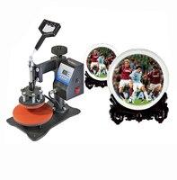 Impressão digital da máquina da imprensa do calor da placa na placa DX-903