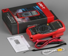 UNI-T UT55 Digital Multimeter DC AC Volt Amp Ohm Capacitance Hz Temp Tester цены