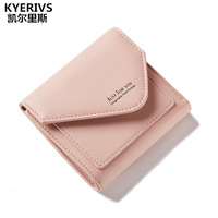 KYERIVS Quality Pu Leather Wallet Women Luxury Brand Coin Purse Mini Card Holder Wallet Female Pocket