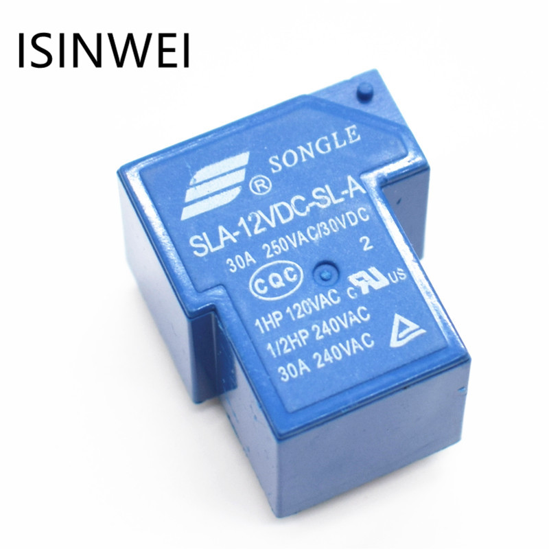 Power Relays SLA-12VDC-SL-A 5PIN 12V 30A T90 Wholesale Price power relays sre 05vdc sl 2c sre 12vdc sl 2c sre 24vdc sl 2c 5v 12v 24v 3a 240v 8pin relay wholesale price