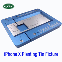 3D BGA Reballing Stencil Soldering Net Mold for iPhone X Motherboard IC Chip Planting Repair Tin Fixture Logic Board Tools