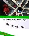 20 pcs M power Series Metal Logo Sticker Emblem Badge Chrom 1 3 4 5 6 E Z X M3 M5 M6 Mline for BMW M VE450 P