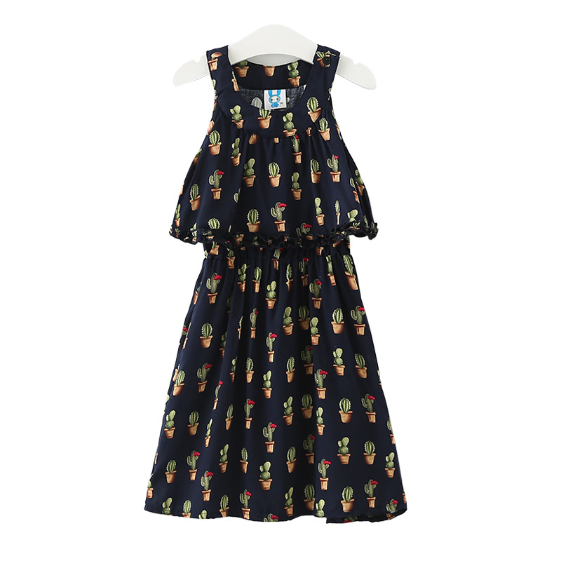 New arrival 2017 spring free shipping classic style baby dress child dress for 4-20 years old baby printed dresses girl clothes free shipping new arrival children s clothing child one piece dress twinset winter dress good quality coat dress