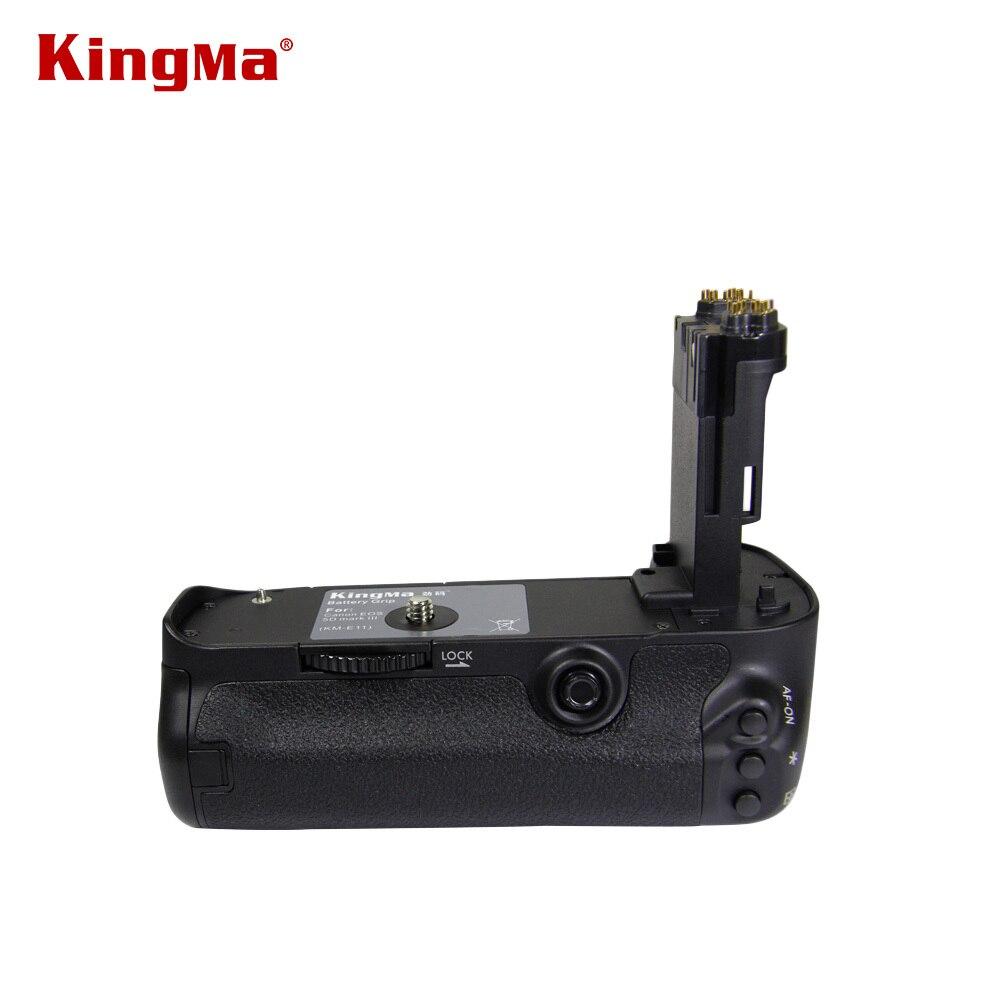 KingMa BG-E11 DSLR Camera Spare Parts Battery Grip Holder for Canon EOS 5D3 5DIII 5DMark III Digital SLR Camera Free Shipping kingma bg e14 pro multi power 2 step vertical shutter battery grip holder for canon eos 70d dslr digital slr camera