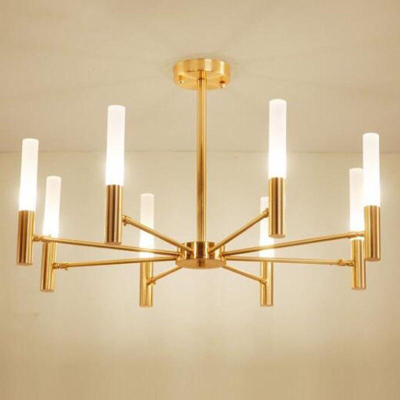 Современный американский стиль люстры для гостиной для спальни, прихожей спиннинговые люстры электрическое устройство светодиодный свети