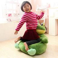Drop shipping cartoon monkey dog bear frog plush toy sofa tatami plush toy sofa floor seat cushion for children, birt