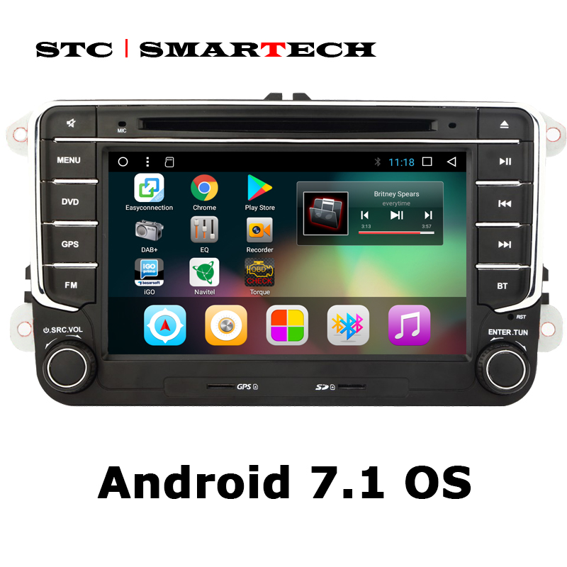 SMARTECH 2 din Android 7 1 font b Car b font Multimedia Player font b car