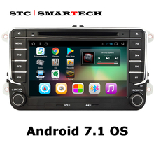SMARTECH 2 din Android 7.1 Car Multimedia Player car stereo radio system for VW/Volkswagen/Passat/POLO/GOLF/Jetta with CAN-BUS