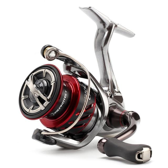 SHIMANO STRADIC CI4 1000HG 2500HG C3000HG 4000XG Spinning Fishing Reel 6 + 1BBความเร็วสูงX เรือMGLโรเตอร์น้ำเค็มTackle