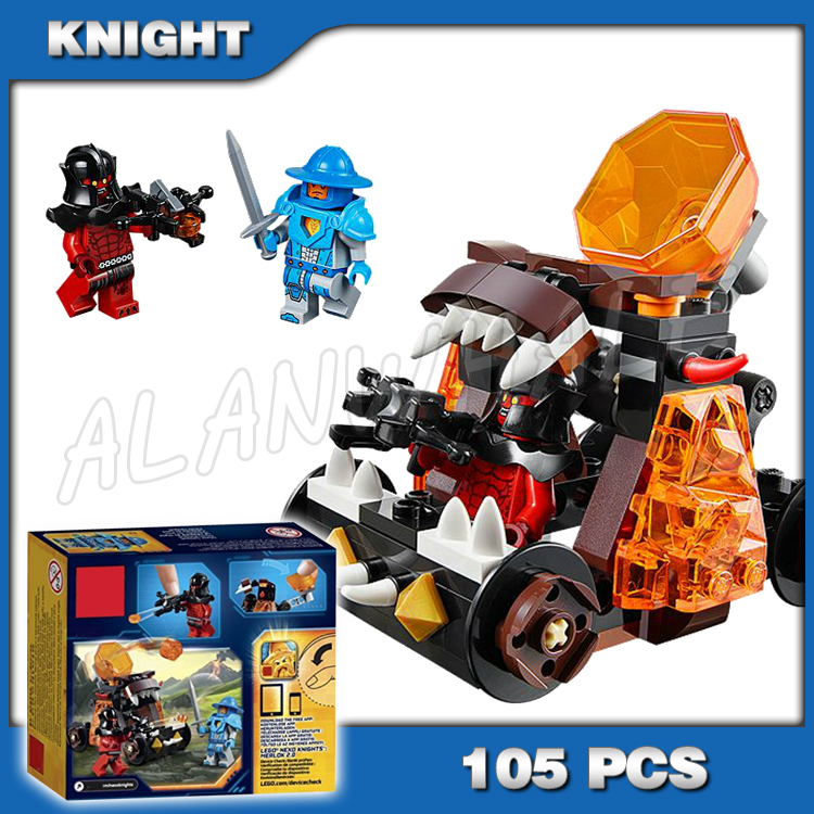 105pcs 2016 New Knights Chaos Catapult Model 10474 Building Blocks Children Bricks Hot Sale Nexus Compatible with Lago image
