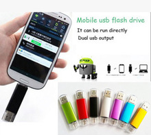 128gb 64gb OTG USB Flash Drive for Android Phone pen drive 32gb 8gb pendrive 16gb  otg usb 3.0 USB Stick Exempt postage цена