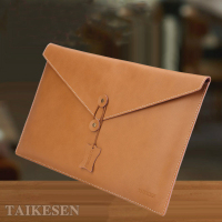 Laptop Briefcase Real Leather Envelope Liner Sleeve Tablet PC Case Computer Protective Bag For Macbook Air
