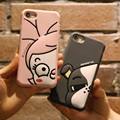 KISSCASE Милый Мультфильм Силиконовые Case Для iPhone 6 6 s 7 Плюс Мягкий кремния Крышка Для iPhone 7 6 6 s Плюс Coque Утка Щенок Case капа