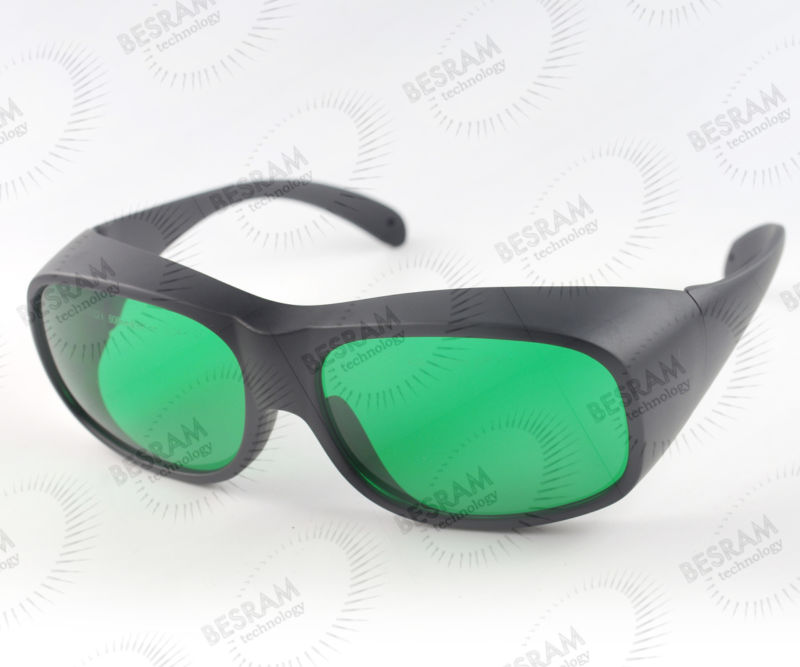 600nm-1100nm OD2+ 808nm-980nm OD4+Laser Protective Goggles Safety Glasses 32# CE