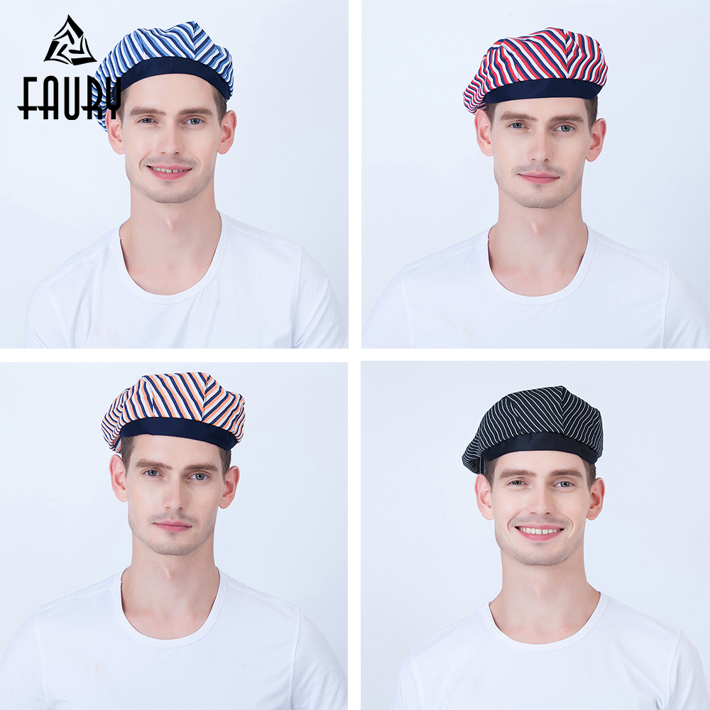 2019 Chef Hat Waiter Beret Restaurant Hotel Caffe Workwear Kitchen Cook Baking Chef Cap Pirate Hat Mushroom Cap For Men Women
