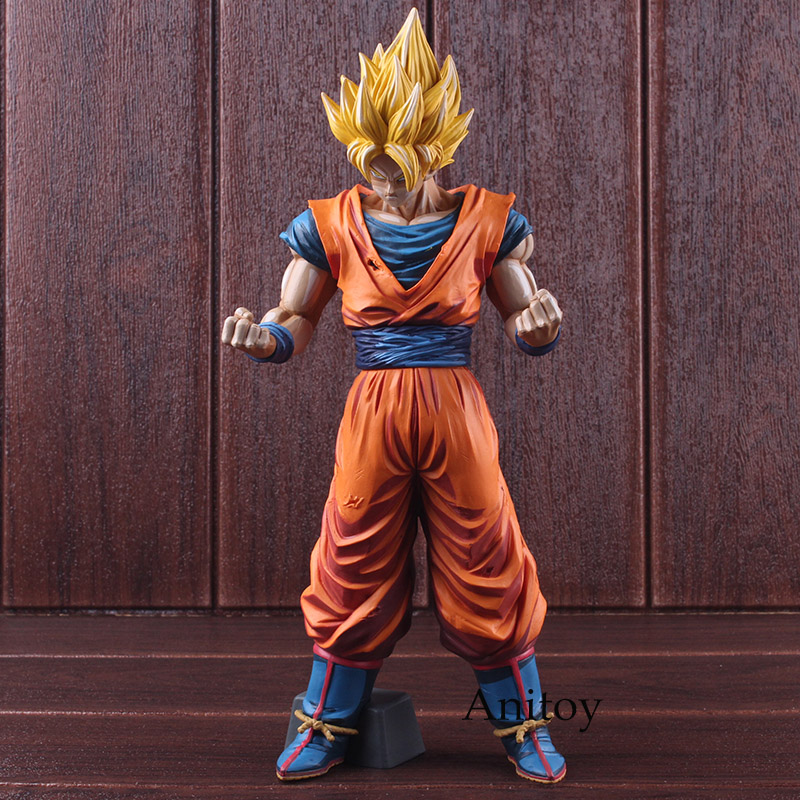Dragon Ball Z Action Figures Toys Grandista Super Saiyan Son Goku Figurine Manga Dimensions Son Gokou PVC Collectible Model Toy