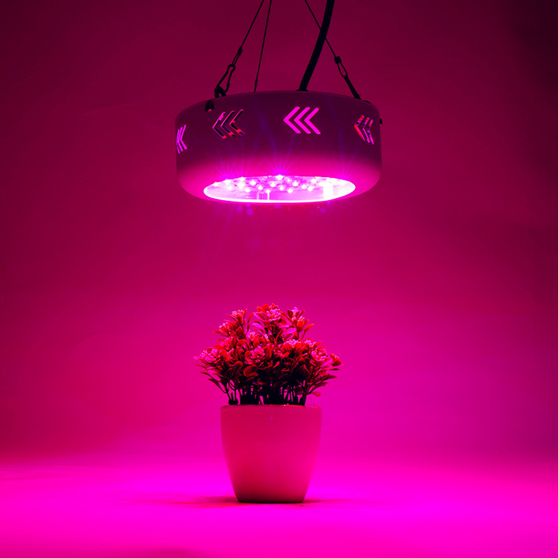 LED Grow Light MINI UFO 150W IR+UV Full Spectrum Grow Box for Indoor Greenhouse Hydroponics Plants Flower Vegetables Growth Lamp