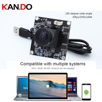 5 mega pixels 30fps 185 degree wide wide angle camera advertising camera Android HD camera module 2592x1944 5.0mp camera module