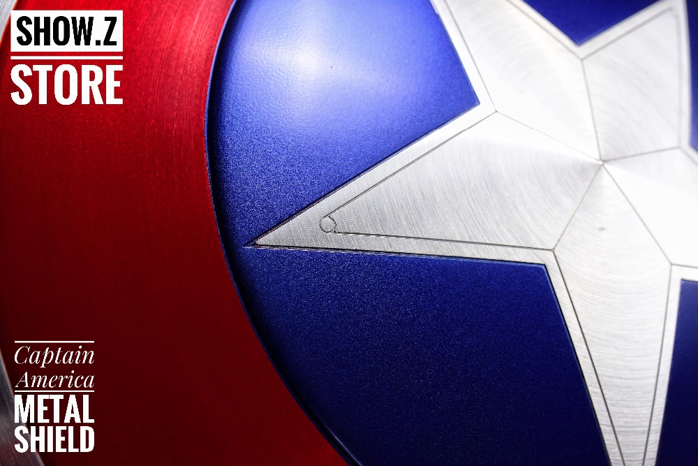 [Show. Z Negozio] [Metal Made] CATTOYS 1:1 Captain America Shield Replica & Prop Versione Perfetta