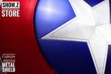 [Show. Z Store] [Металл сделан] CATTOYS 1:1 Капитан Америка щит Реплика и реквизит идеальная версия