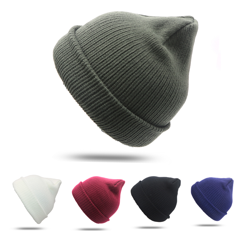 2Pcs Winter Casual Cotton Knit Hats For Women Men Baggy Beanie Hat Crochet Slouchy Oversized Cap Warm Skullies Toucas Gorros winter casual cotton knit hats for women men baggy beanie hat crochet slouchy oversized cap warm skullies toucas gorros w1