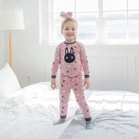 Russia Children S Pajamas Winter Pajamas Girls Clothing Sets Coat Pants 2 Pcs Suit Home Pajamas