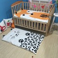 Free shipping New Newborn Baby Blanket Cotton Bedding animal print swadding Kids summer quilt infant rug Floor Playing Carpet Ma