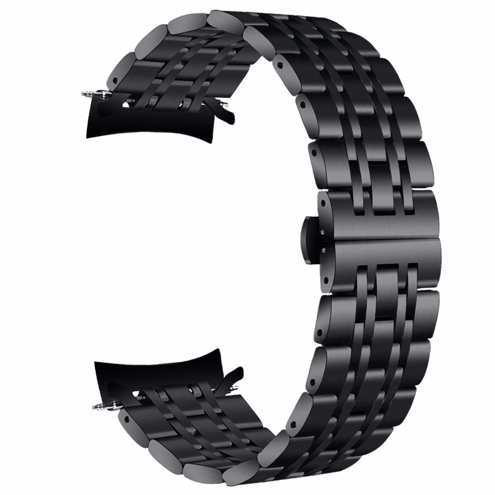 V-MORO 22mm Bands Gear S3 Frontier S3 Classic Band Stainless SteelBracelet  Band For Samsung Gear S3 Frontier S3 Classic Straps смарт часы samsung gear s3 classic хромированная сталь