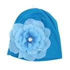1pcs Baby Newborn Boy Girl Cute Hat Cap with Beautiful Flower