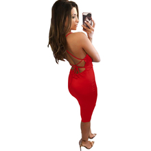 summer new sexy nightclub dress slim strapless halter topless white red wine black club party