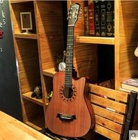 Andrew Musical Instruments 38 Inch Folk Guitar Novice Beginners Beginners Practice Piano